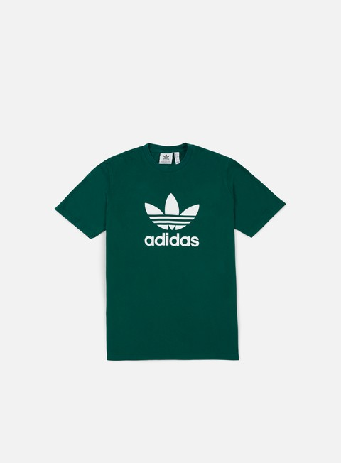 t shirt adidas originals trefoil t shirt collegiate green