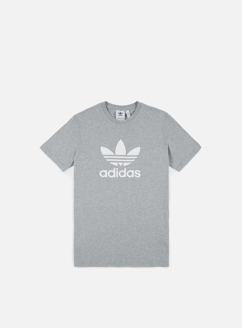 t shirt adidas originals trefoil t shirt medium grey heather