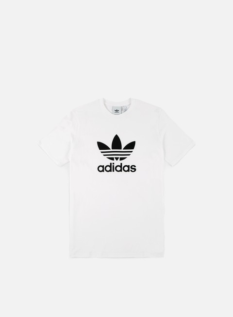 t shirt adidas originals trefoil t shirt white