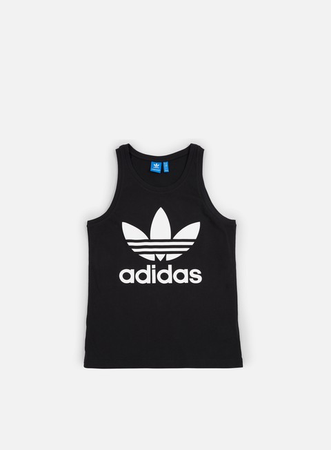 t shirt adidas originals trefoil tank top black