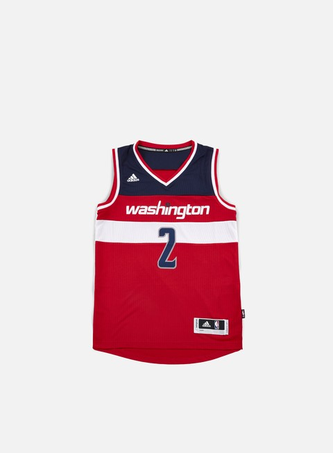 t shirt adidas originals washington wizards swingman jersey john wall team colors