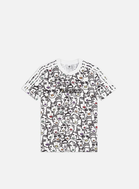 Sale Outlet Short Sleeve T-shirts Adidas Originals WMNS Fiorucci AOP T-shirt