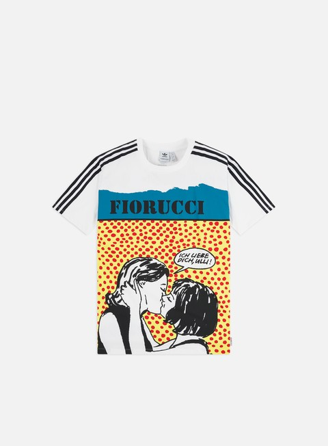 Outlet e Saldi T-shirt a Manica Corta Adidas Originals WMNS Fiorucci Graphic T-shirt