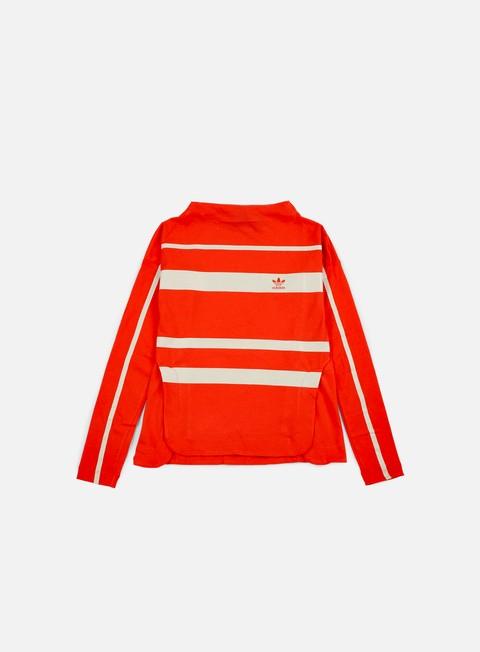 Outlet e Saldi T-shirt a Manica Lunga Adidas Originals WMNS Stripe LS T-shirt
