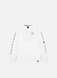 Adidas Skateboarding - Bonethrower LS T-shirt, White 1