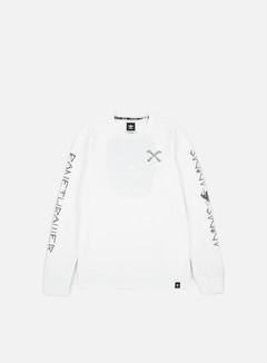 Adidas Skateboarding - Bonethrower LS T-shirt, White 1