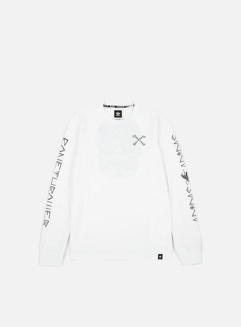 T-shirt a Manica Lunga Adidas Skateboarding Bonethrower LS T-shirt