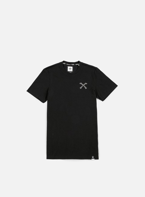 t shirt adidas skateboarding bonethrower t shirt black