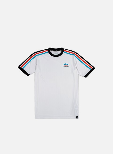 t shirt adidas skateboarding clima club jersey white energy blue