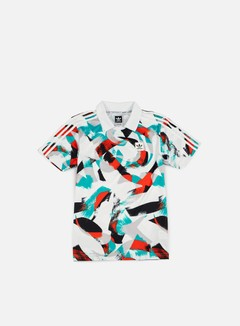 Adidas Skateboarding - Courtside Jersey, White/Energy Blue 1