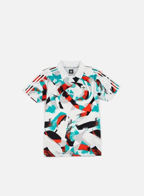 T-shirt a Manica Corta Adidas Skateboarding Courtside Jersey