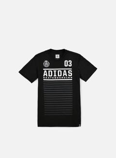 Adidas Skateboarding - FC T-shirt, Black 1
