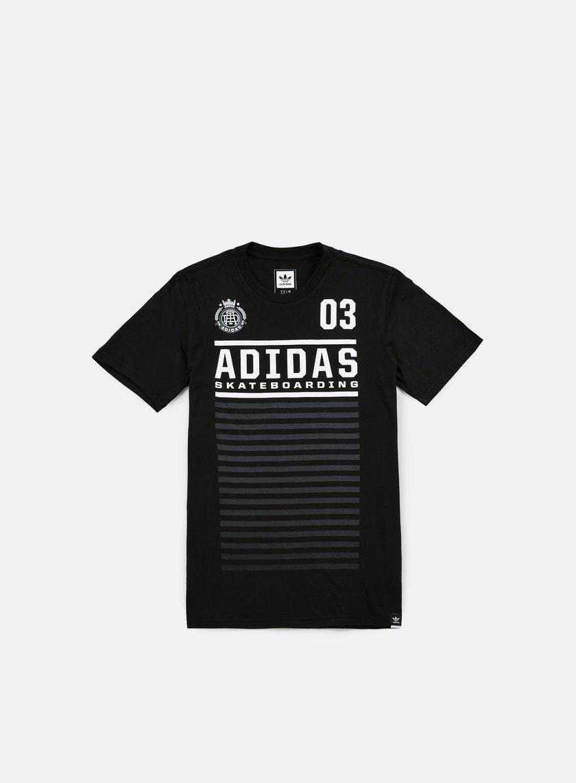 Adidas Skateboarding - FC T-shirt, Black