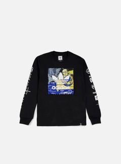 Adidas Skateboarding - Ferg LS T-shirt, Black 1