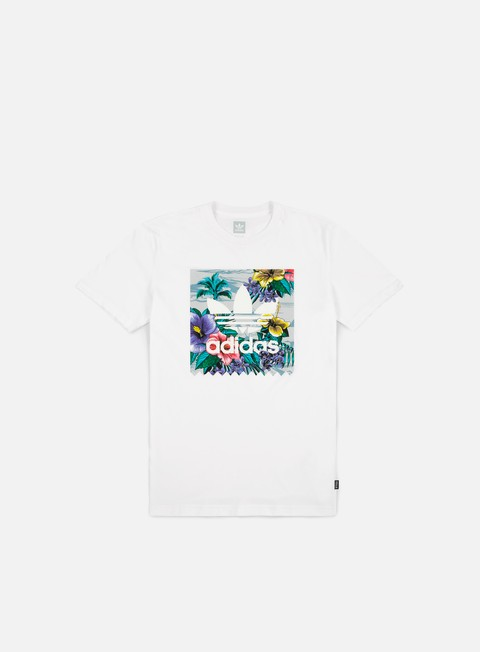 t shirt adidas skateboarding floral bb t shirt white multicolor