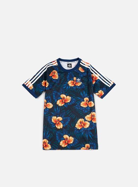 T-shirt a Manica Corta Adidas Skateboarding Floral Jersey