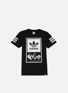 Adidas Skateboarding - Global Lock Up T-shirt, Black/White 1