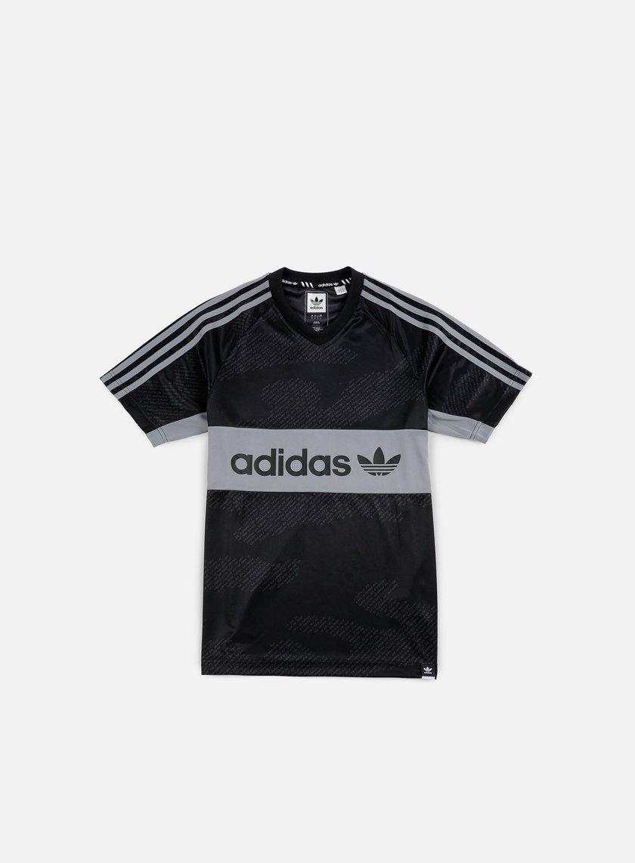 Adidas Skateboarding - Jersey Word Camo, Black/Utility Grey/Grey