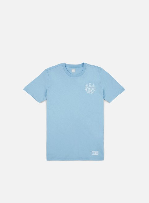 t shirt adidas skateboarding krooked t shirt clear blue white