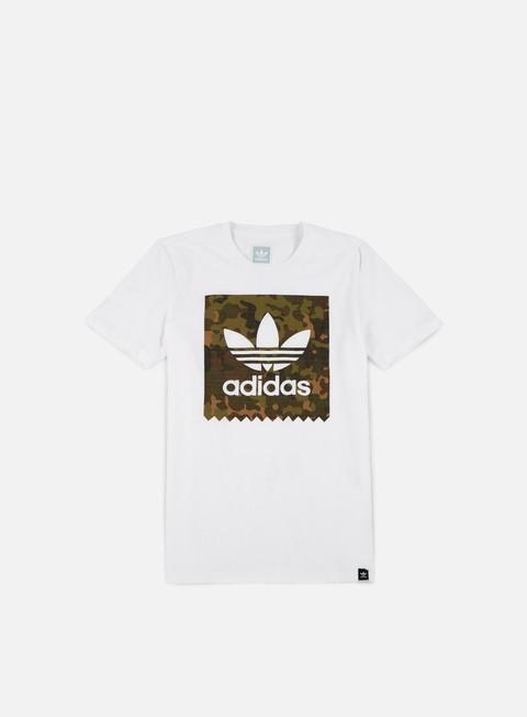T-shirt a Manica Corta Adidas Skateboarding Logo Remix T-shirt