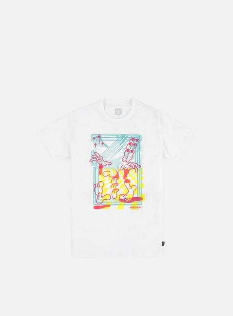 T-shirt a Manica Corta Adidas Skateboarding Macrum T-shirt
