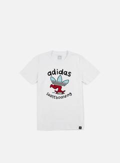 Adidas Skateboarding - Meka PSH T-shirt, White 1