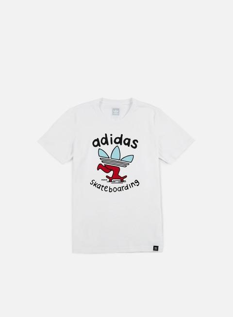 Short Sleeve T-shirts Adidas Skateboarding Meka PSH T-shirt