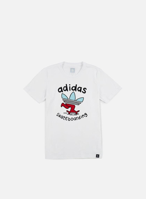 Adidas Skateboarding - Meka PSH T-shirt, White