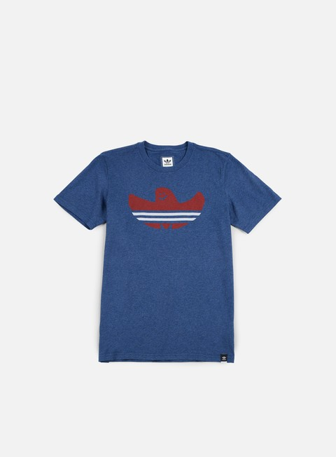 t shirt adidas skateboarding nautical shmoo t shirt mystery blue melange