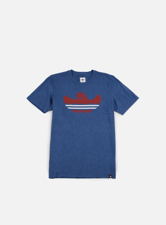 Adidas Skateboarding - Nautical Shmoo T-shirt, Mystery Blue Melange