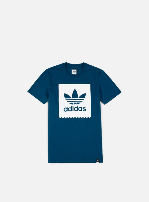 Short Sleeve T-shirts Adidas Skateboarding Solid BB T-shirt