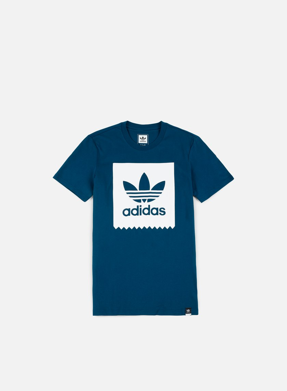 Adidas Skateboarding - Solid BB T-shirt, Blue Night
