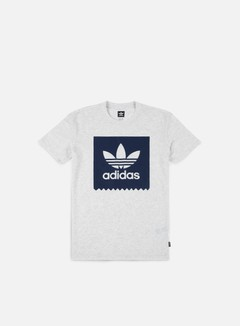Adidas Skateboarding - Solid BB T-shirt, Pale Melange/Indigo Night
