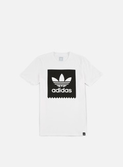 Adidas Skateboarding - Solid BB T-shirt, White