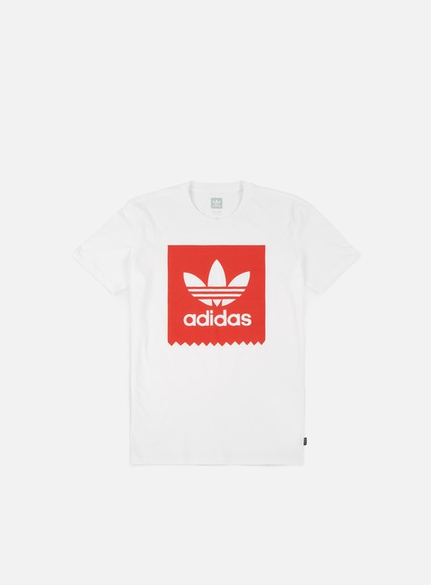 t shirt adidas skateboarding solid bb t shirt white trace scarlet
