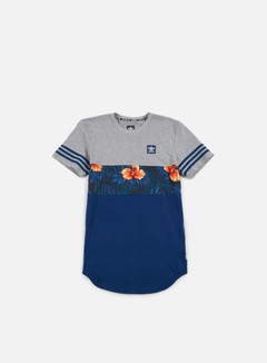 Adidas Skateboarding - SWT LF Long T-shirt, Core Heather/Mystery Blue/Multicolor 1
