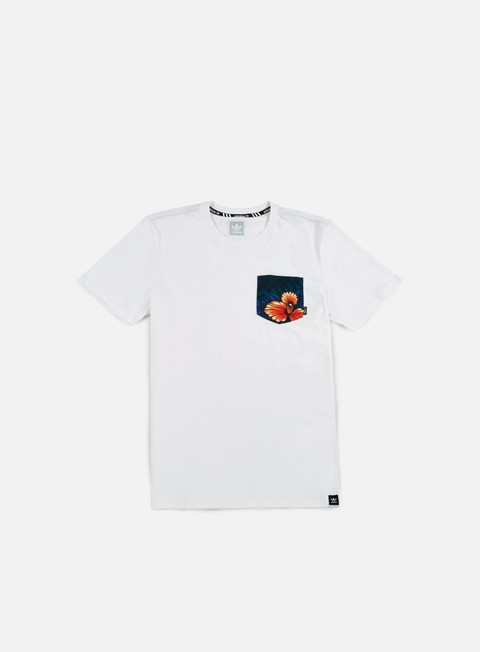 t shirt adidas skateboarding swt lf pocket t shirt white multicolor