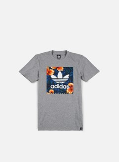 Adidas Skateboarding - SWT LF T-shirt, Core Heather/Multicolor 1
