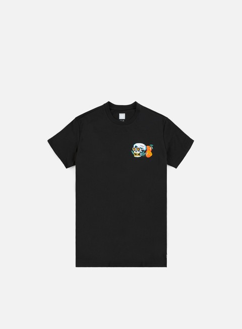 t shirt adidas skateboarding tropic skull t shirt black white orange