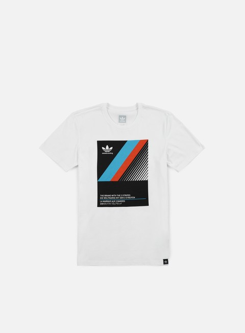 t shirt adidas skateboarding vhs block t shirt white