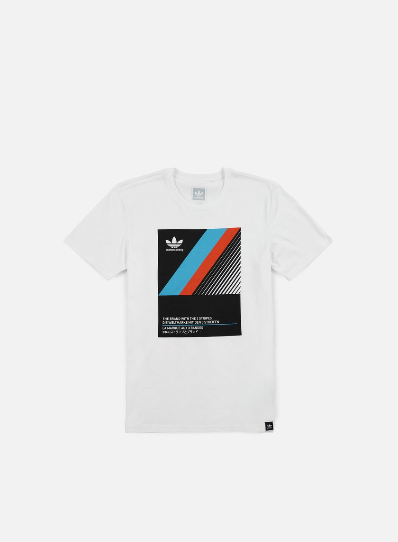 Adidas Skateboarding - VHS Block T-shirt, White