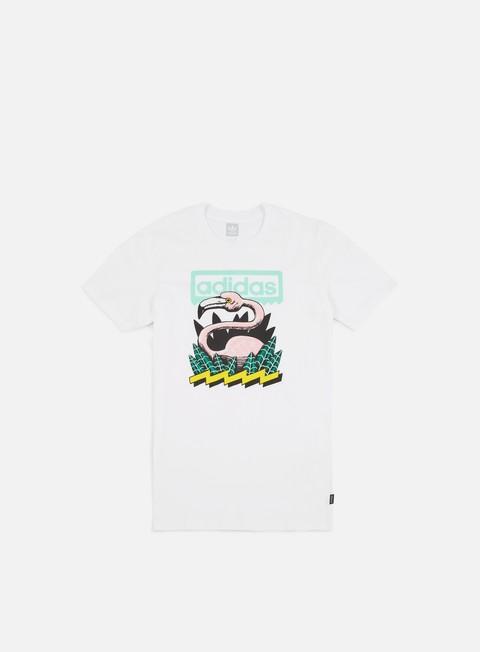 Outlet e Saldi T-shirt a Manica Corta Adidas Skateboarding Wading T-shirt