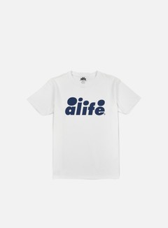 Alife - Bubble Logo T-shirt, White/Navy 1