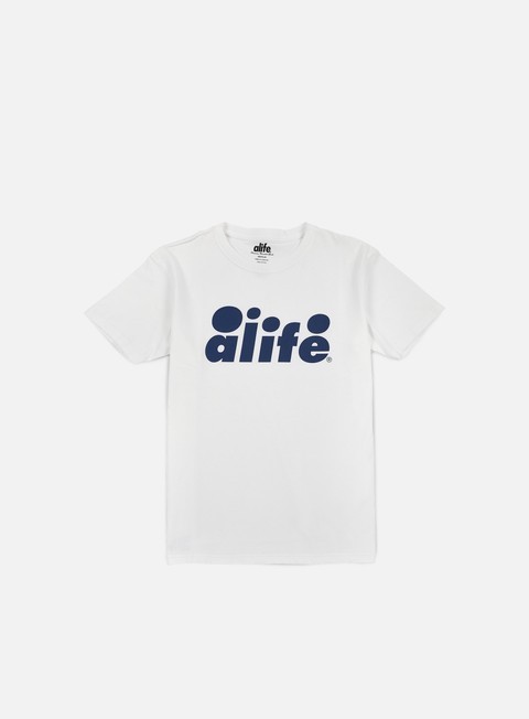 t shirt alife bubble logo t shirt white navy