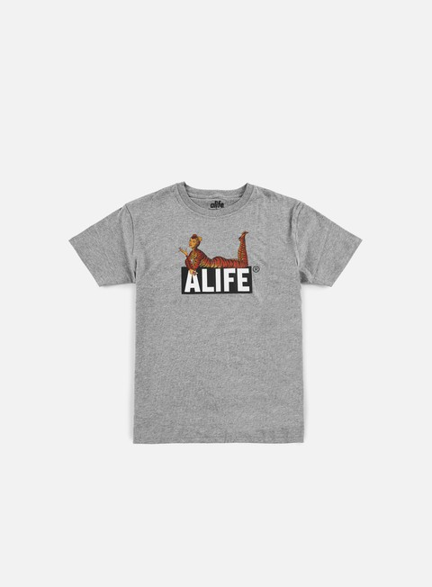 t shirt alife cat power t shirt heather grey