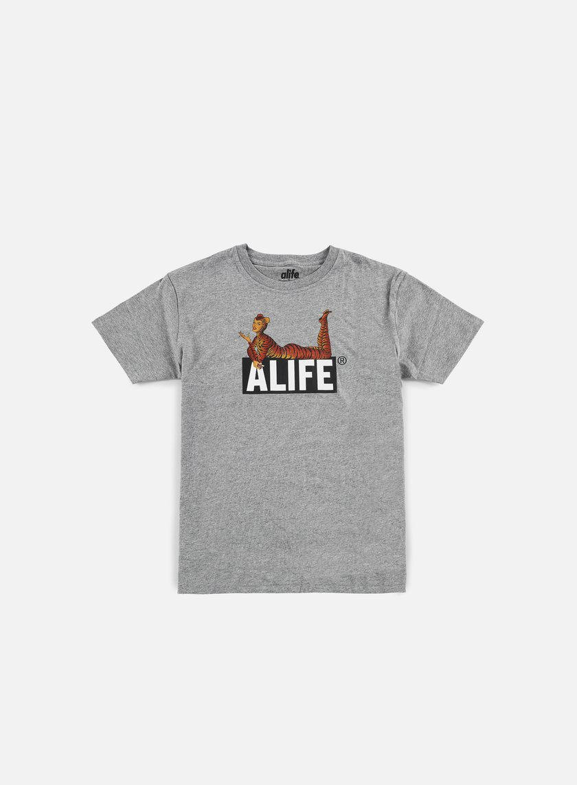 Alife - Cat Power T-shirt, Heather Grey