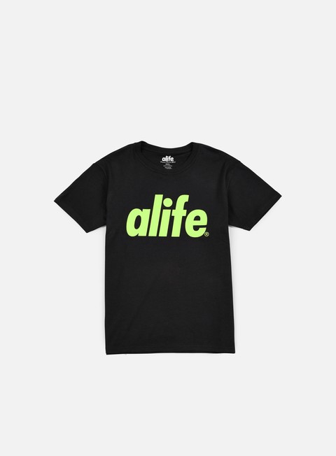 t shirt alife core t shirt black green
