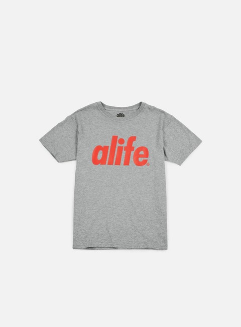 t shirt alife core t shirt heather grey red