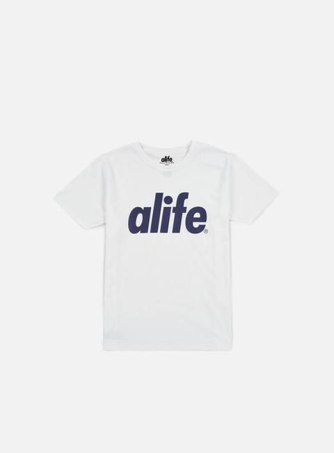 t shirt alife core t shirt white navy
