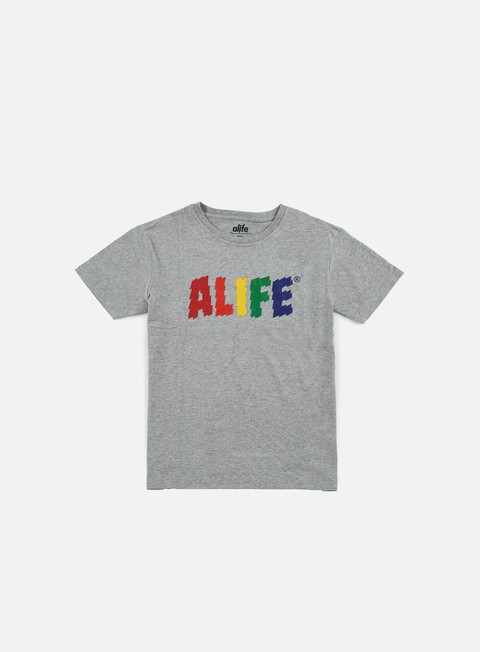 t shirt alife electric life t shirt heather grey